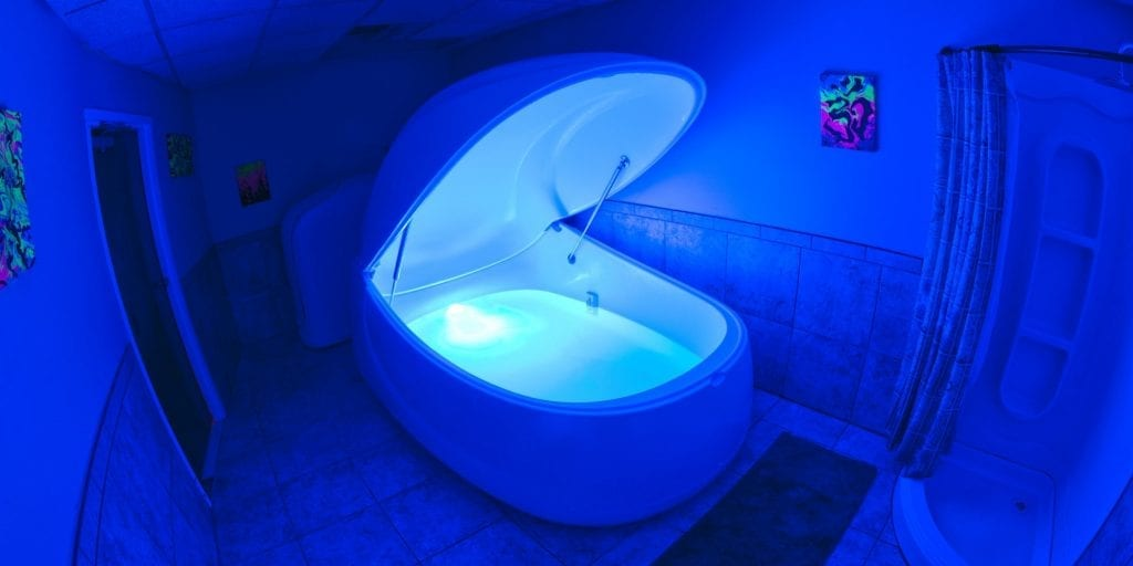 Float weightlessly and calmly in our Float Tank pods at Apollo Health and Wellness, formerly Apollo Float